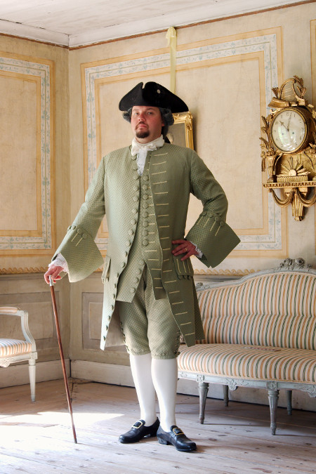18th century man's suit